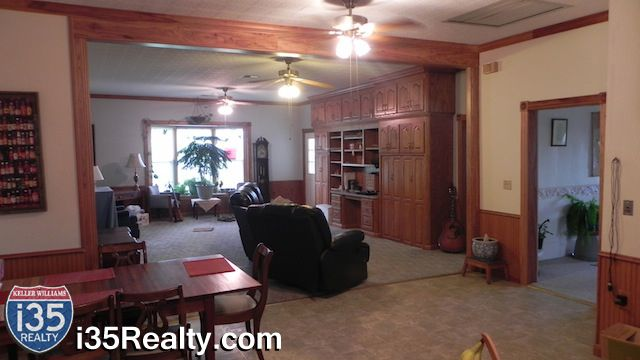 Pecan Wood Cabinets - Home for Sale in Chilton, Texas - Central Texas - i35 Realty - Keller Williams Realty #CentralTexas #RealEstate