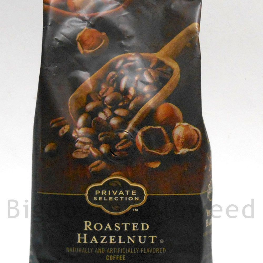 Private Selection Roasted HAZELNUT Flavored coffee WHOLE
