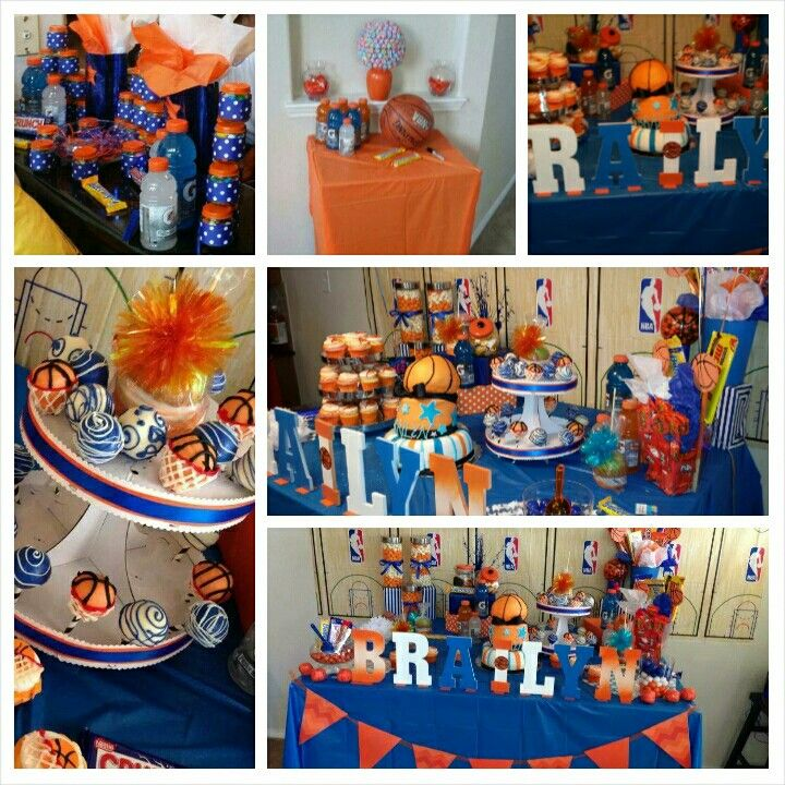 Basketball Themed Baby Shower