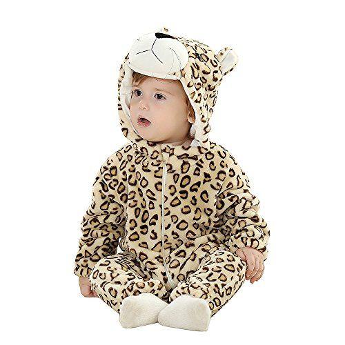 28675fde6 Eden Babe Unisexbaby Winter Flannel Romper Panda Onesie Outfits Suit ...