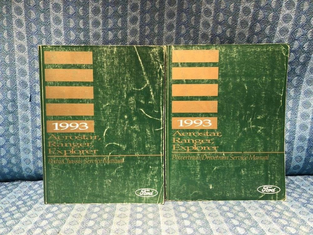 1993 Ford Aerostar Wiring Diagrams Manual Set Other Car Manuals Vehicle Parts Accessories
