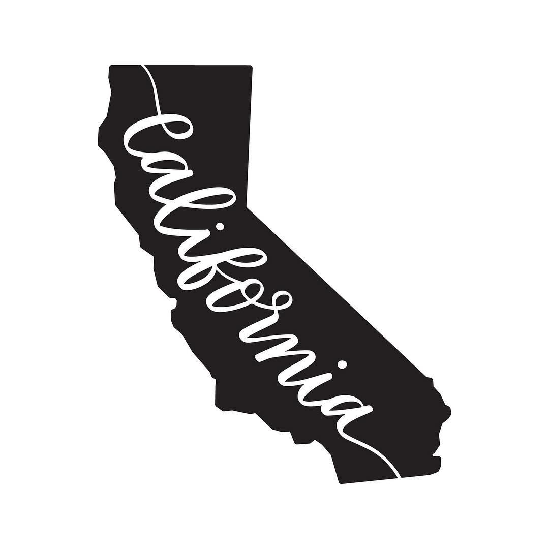 Download Calligraphy California SVG Cricut Illustration - On the ...
