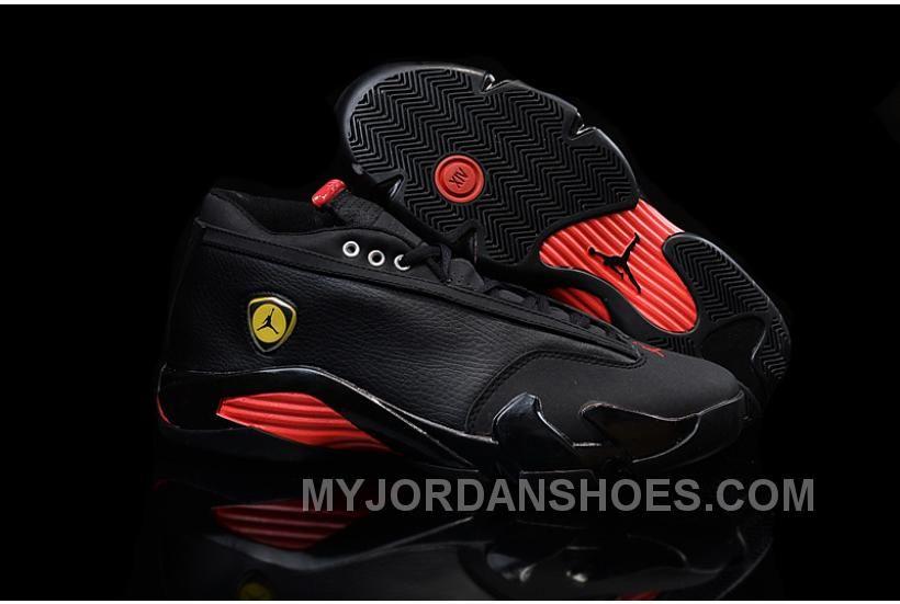 purchase cheap 0c3fd 0a678 Nike Air Jordan 14 Retro Low Black Red MpCFx | Air Jordan 14 ...