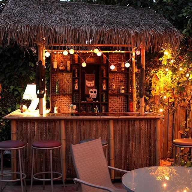 Home tiki bar North Hollywood tiki tikibar tikicalifornia