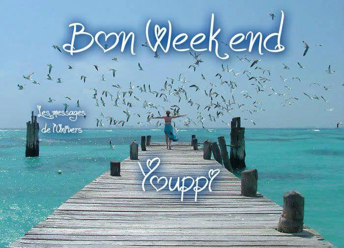 Bon Week end Youppi | Images bonjour, Bon week end image