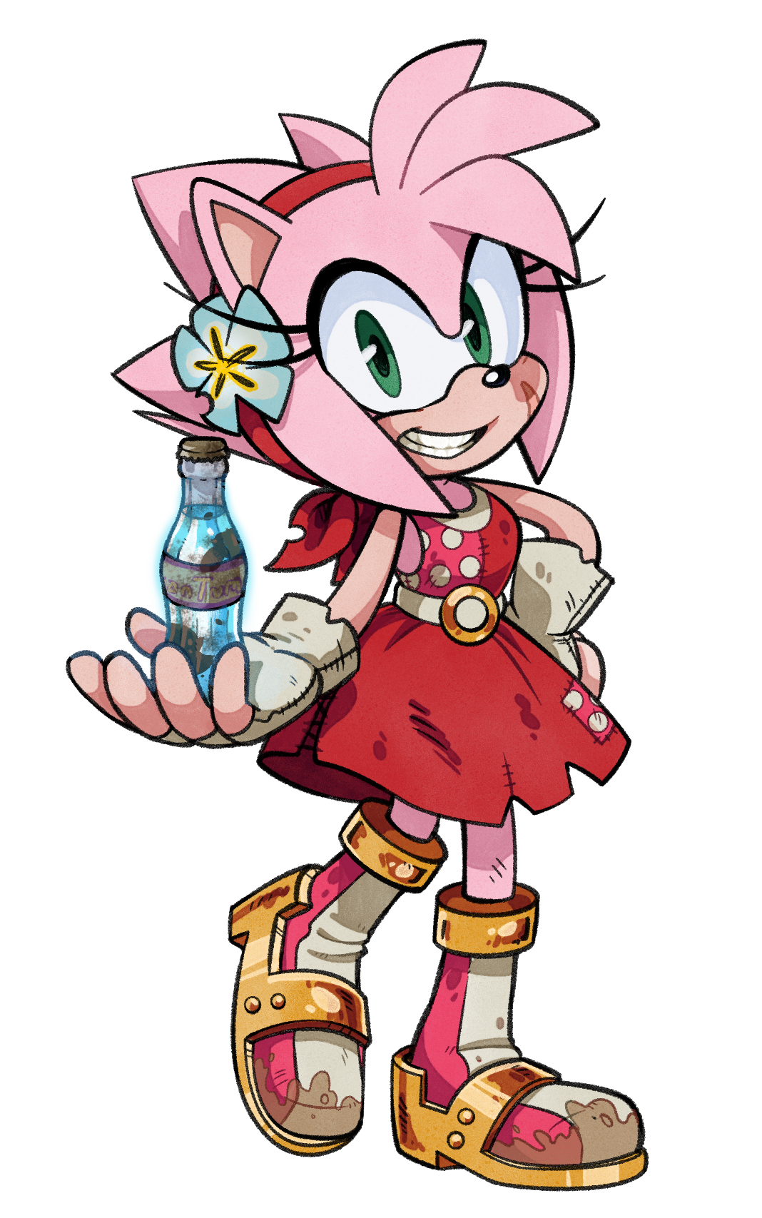 Sonic and Amy Rose Sonamy 2 iphone case