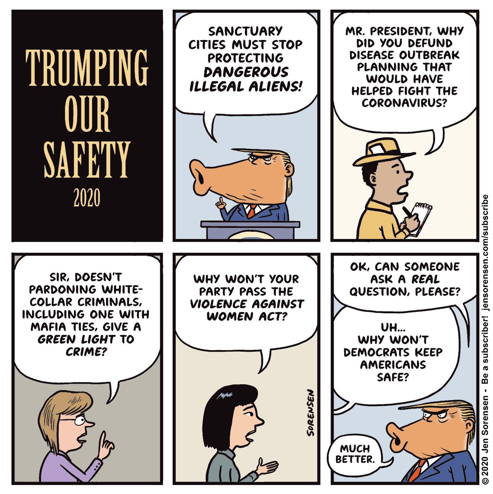 The Nib ️ on Twitter in 2020 Trump cartoons, Trump we