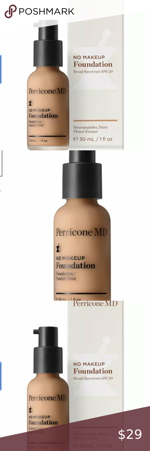 Perricone MD No Makeup Foundation Broad Spectrum Perricone