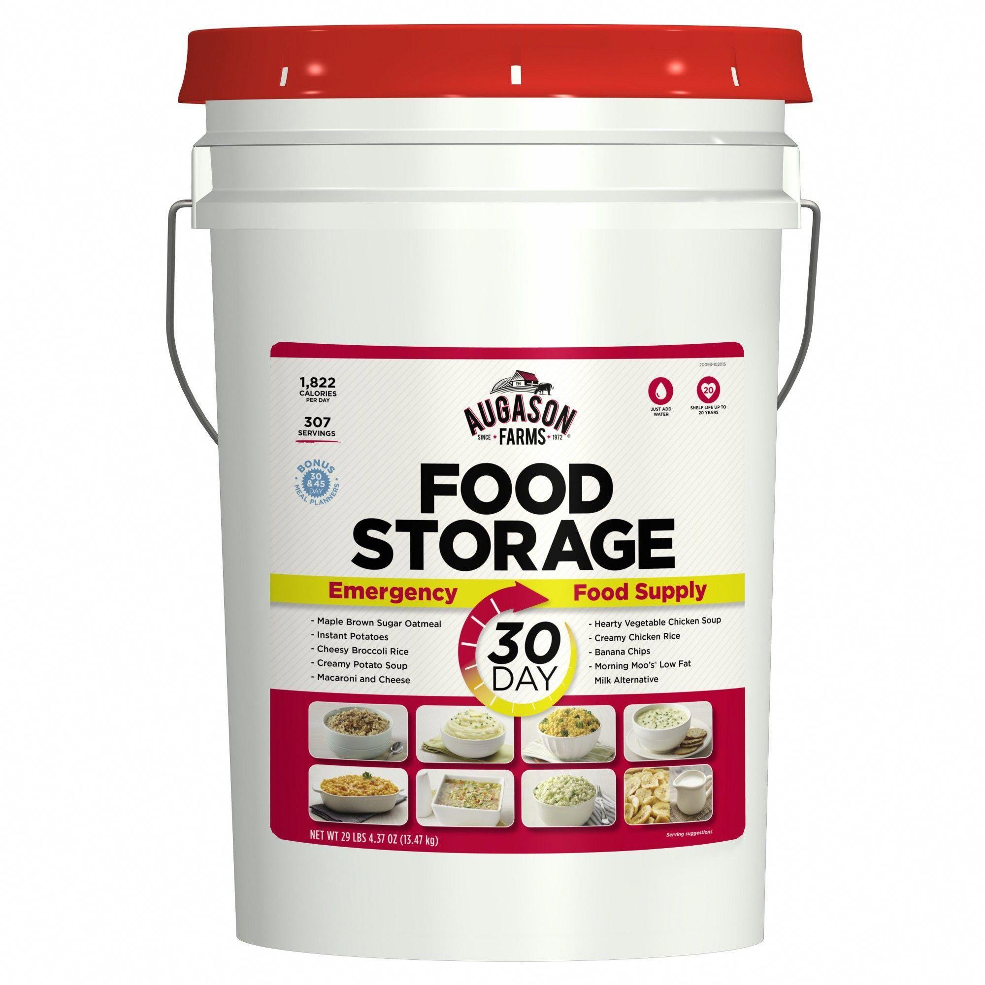 Augason farms 30day emergency food storage supply 29lb