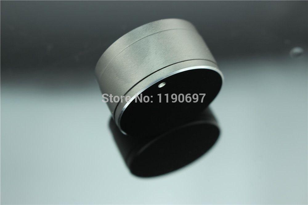 Aluminium Shell Knopf Lautstärkeregler Getriebe Form Potentiometerknopf 34 MM * 18 MM Bohrung 6,0 MM 2 stücke Freies verschiffen