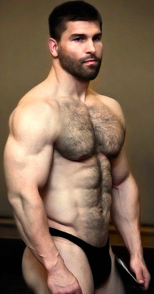 Hairy Men In Thongs