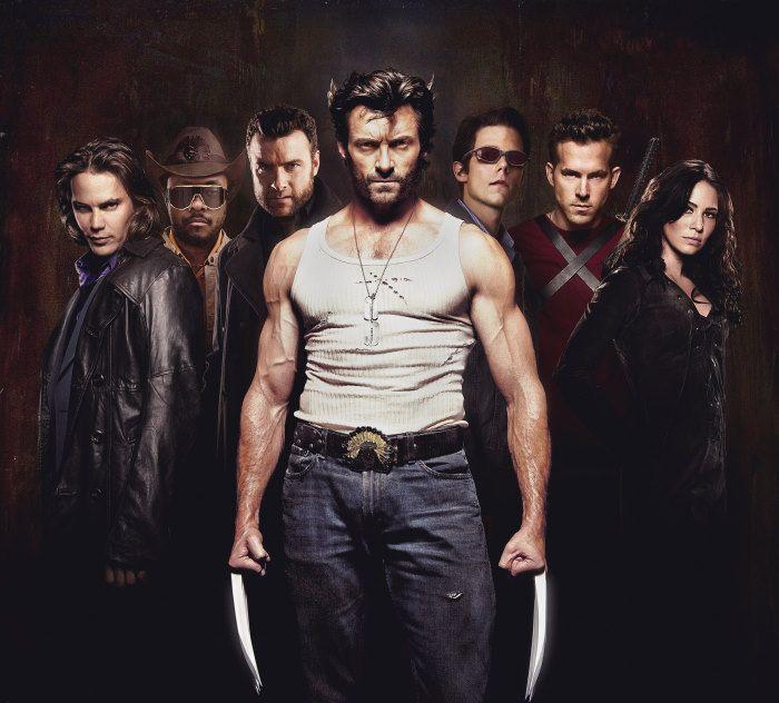 Liev Schreiber Ryan Reynolds Hugh Jackman Lynn Collins Will I Am Taylor Kitsch And Tim Pocock In X Men O In 2020 Lynn Collins Wolverine Hugh Jackman Hugh Jackman