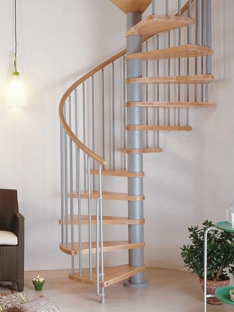 Phoenix Wood Tread Spiral Staircase Kits