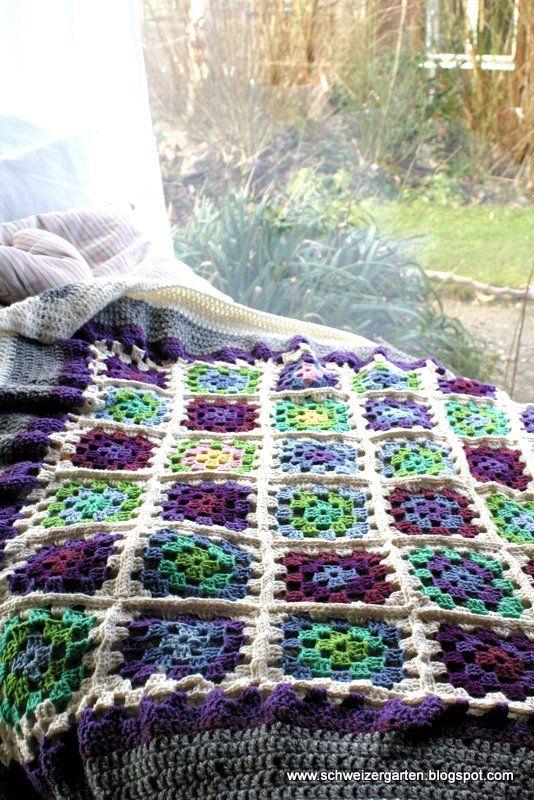 Crochet-Love - Ein Schweizer Garten | Granny Squares and More ...