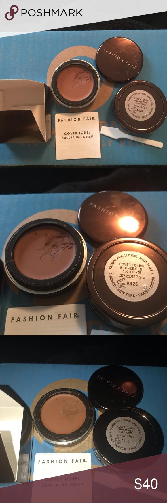 Fashion Fair Concealing Crème Bronze Glo 1 Fashion Fair