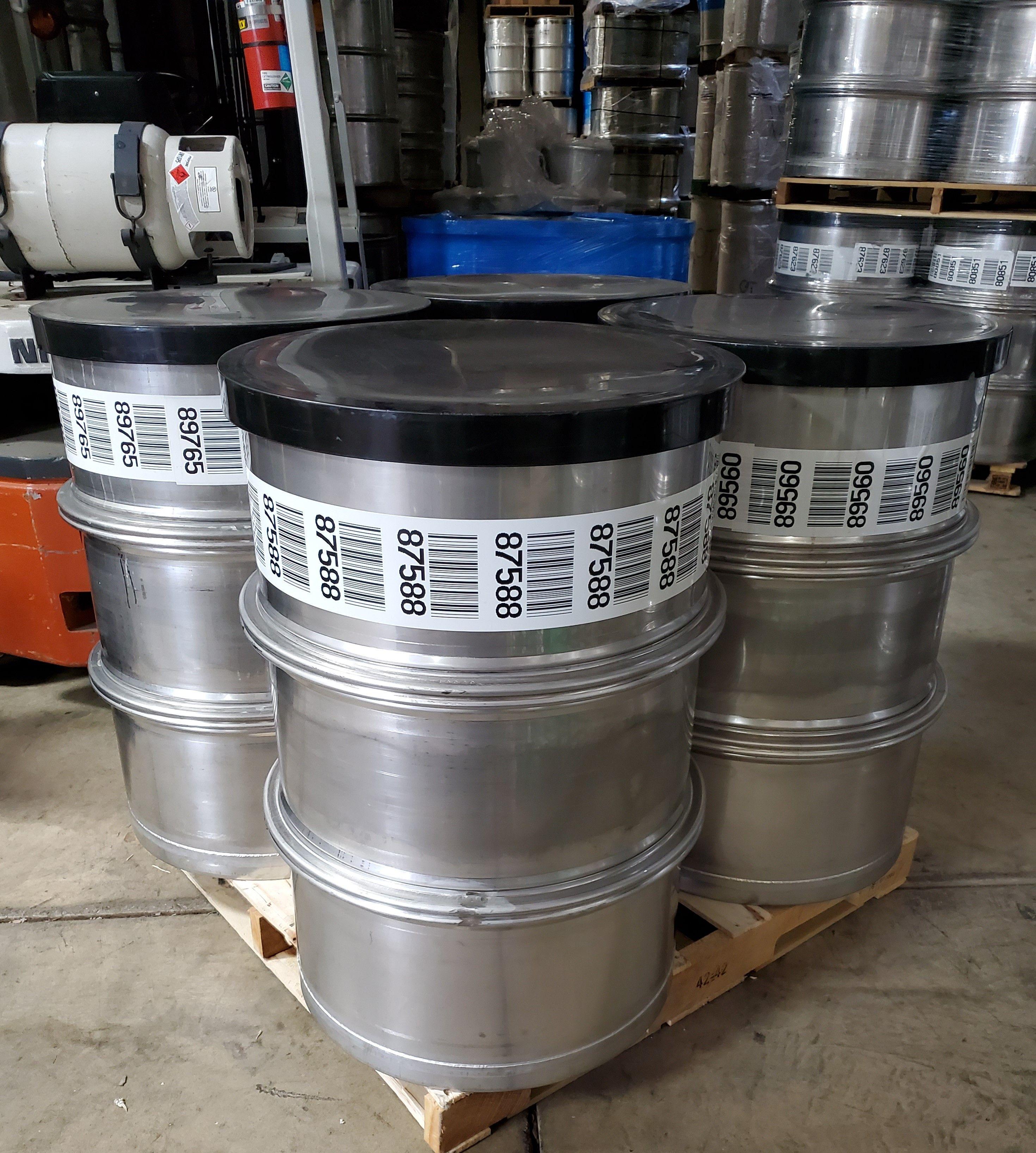55 Gallon Used Stainless Steel Barrel Open Head In 2020 Steel Barrel Stainless Steel Accessories Stainless Steel