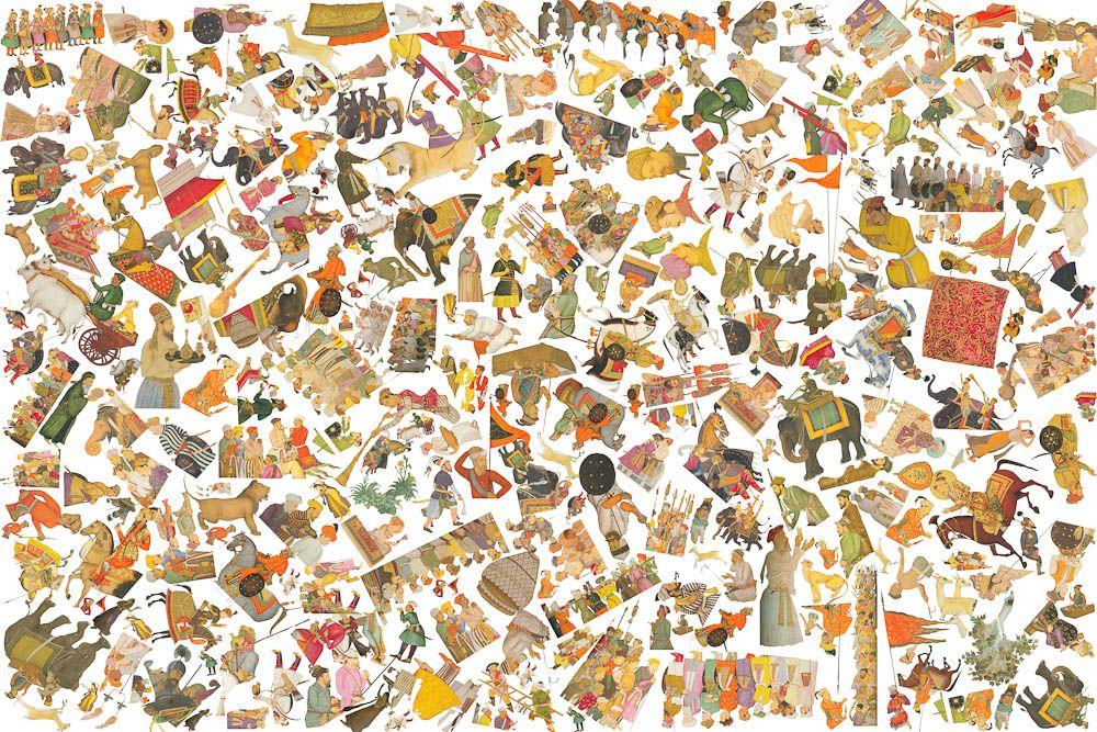 Imran Channa Badshahnama series I, 2010, pigment inkjet on archival paper, 120x180 cm, ed. 1/3+1AP, ref. 108  2 of 9  <>×