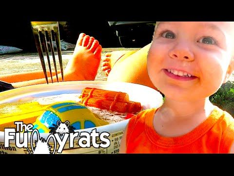 WE FROZE OUR KIDS' TOYS & HUGE ANNOUNCEMENT! | Day 2207 - TheFunnyrats F...
