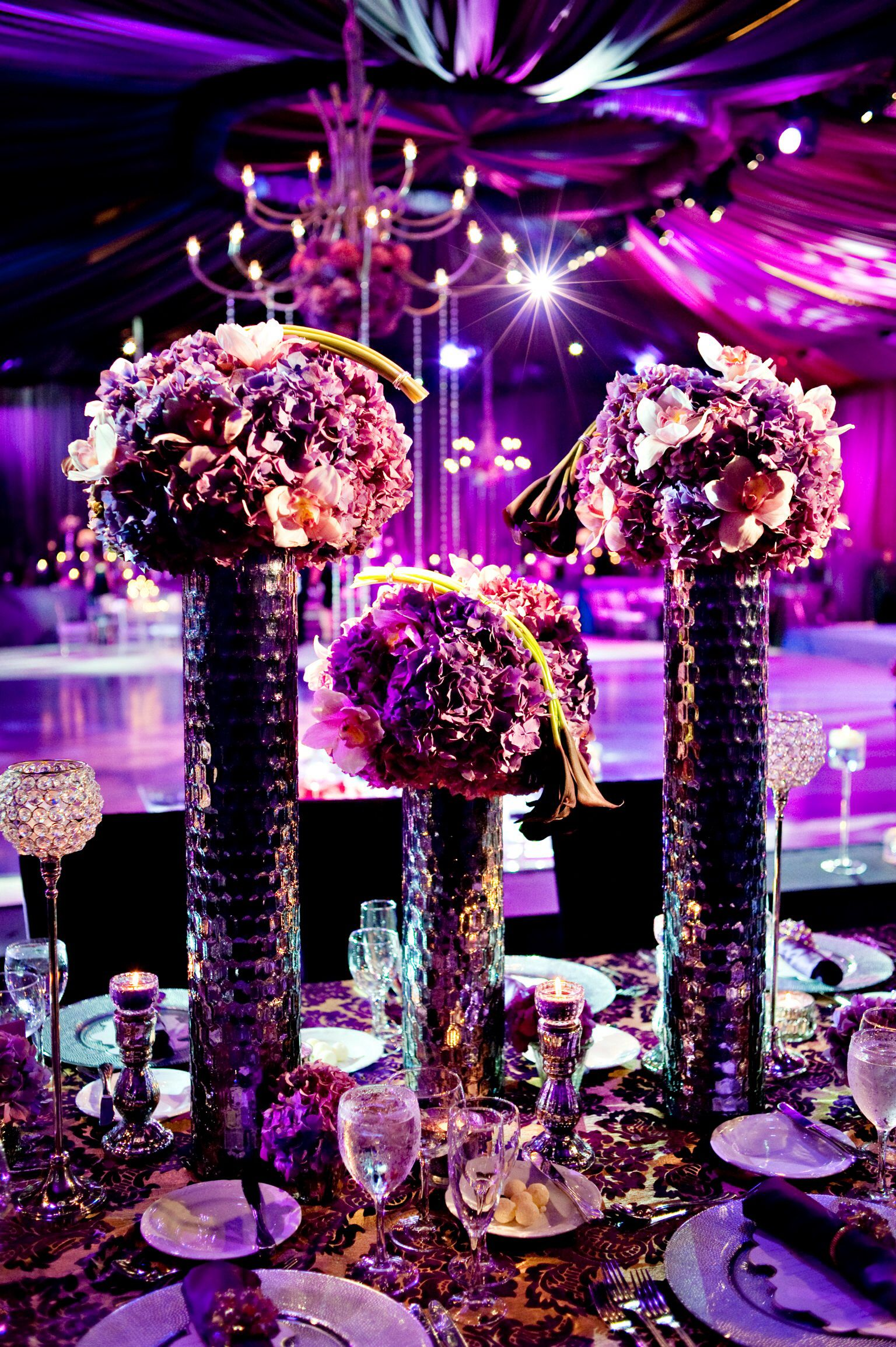 Nba Weddings Boca Beach Club Always Flowers And Events Purple