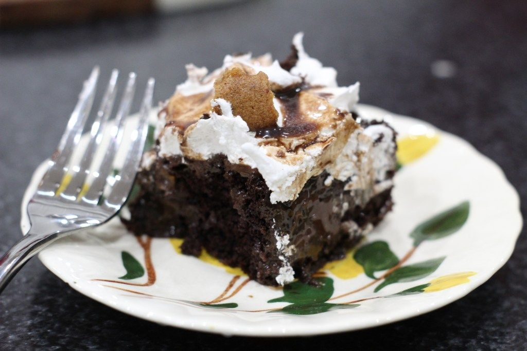 triple chocolate cake recipe with pudding chocolate chips