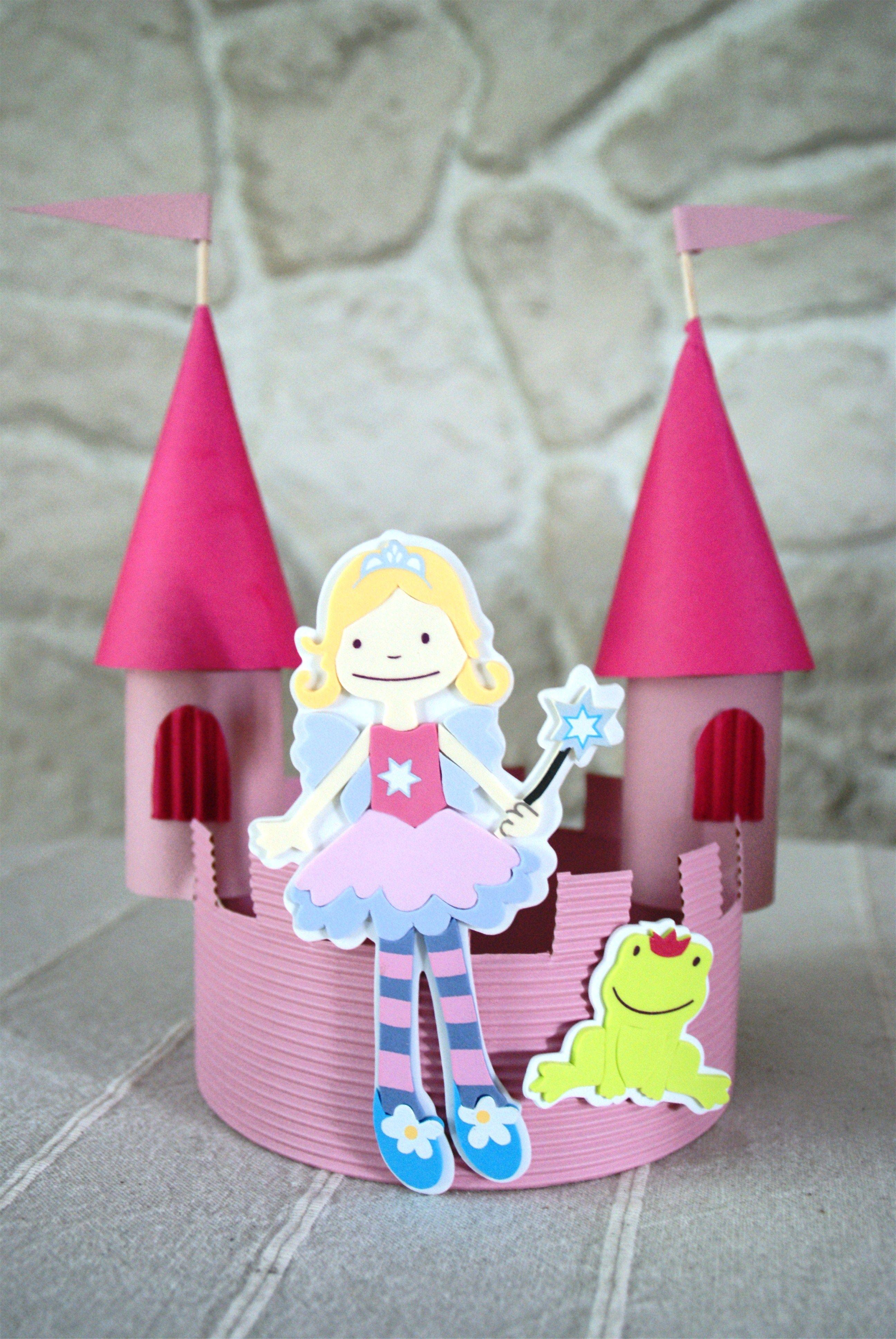Couronne ch teau de princesse galette des rois pinterest for Image chateau princesse