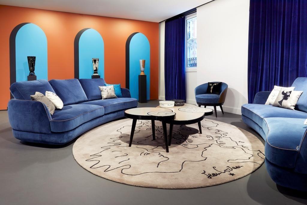 Roche Bobois L Jean Cocteau Collection L Paris 2019 Visual Comfort Maison Design