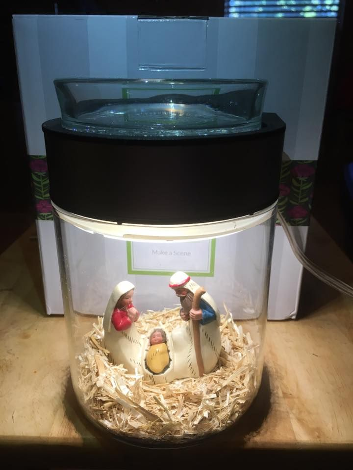Scentsy 39 s make a scene diy warmer nativity scene idea for Scene ideas