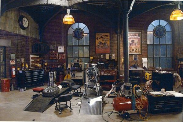 Ghost rider set decoration columbia pictures by suza maybury via