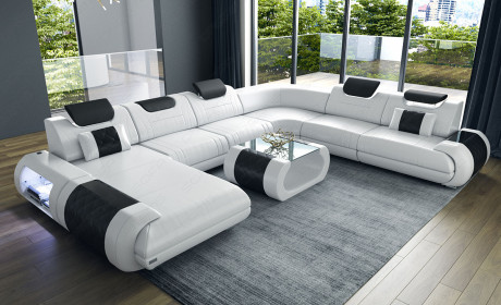 Extra Large Leather Sectionals Large Modern Sofas Sofadreams