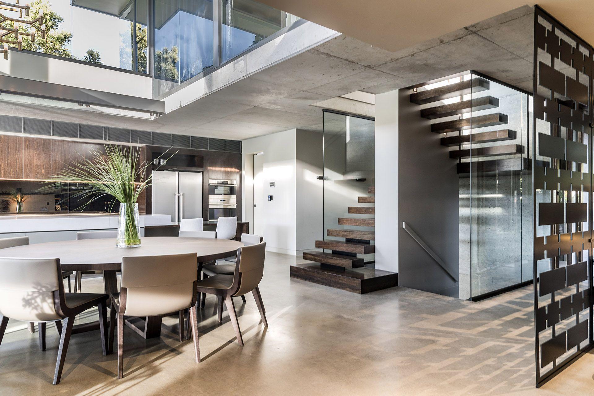 Ozgrind Polished Concrete Home Kitchen Architect Design