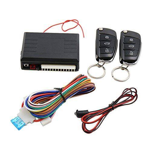 uxcell car alarm system auto remote central kit door lock vehicle rh pinterest com
