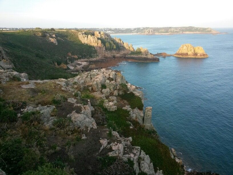 The South coast in the late evening