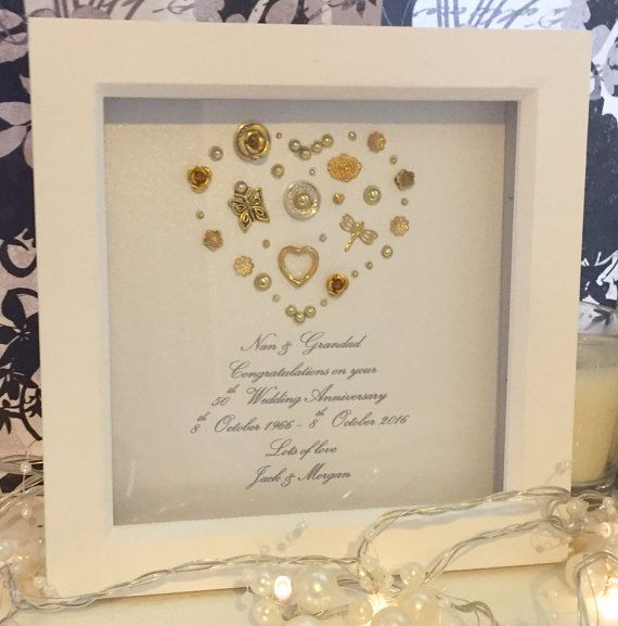 Golden wedding anniversary gift 50th by LoveTwilightSparkles   Home ...