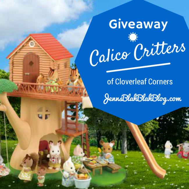Giveaway Enter To Win A Calico Critters Family Calico