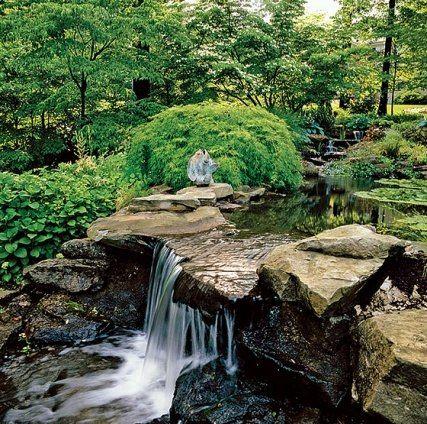 Gardens Variations on a Green Estanques, Permacultura y Fuentes