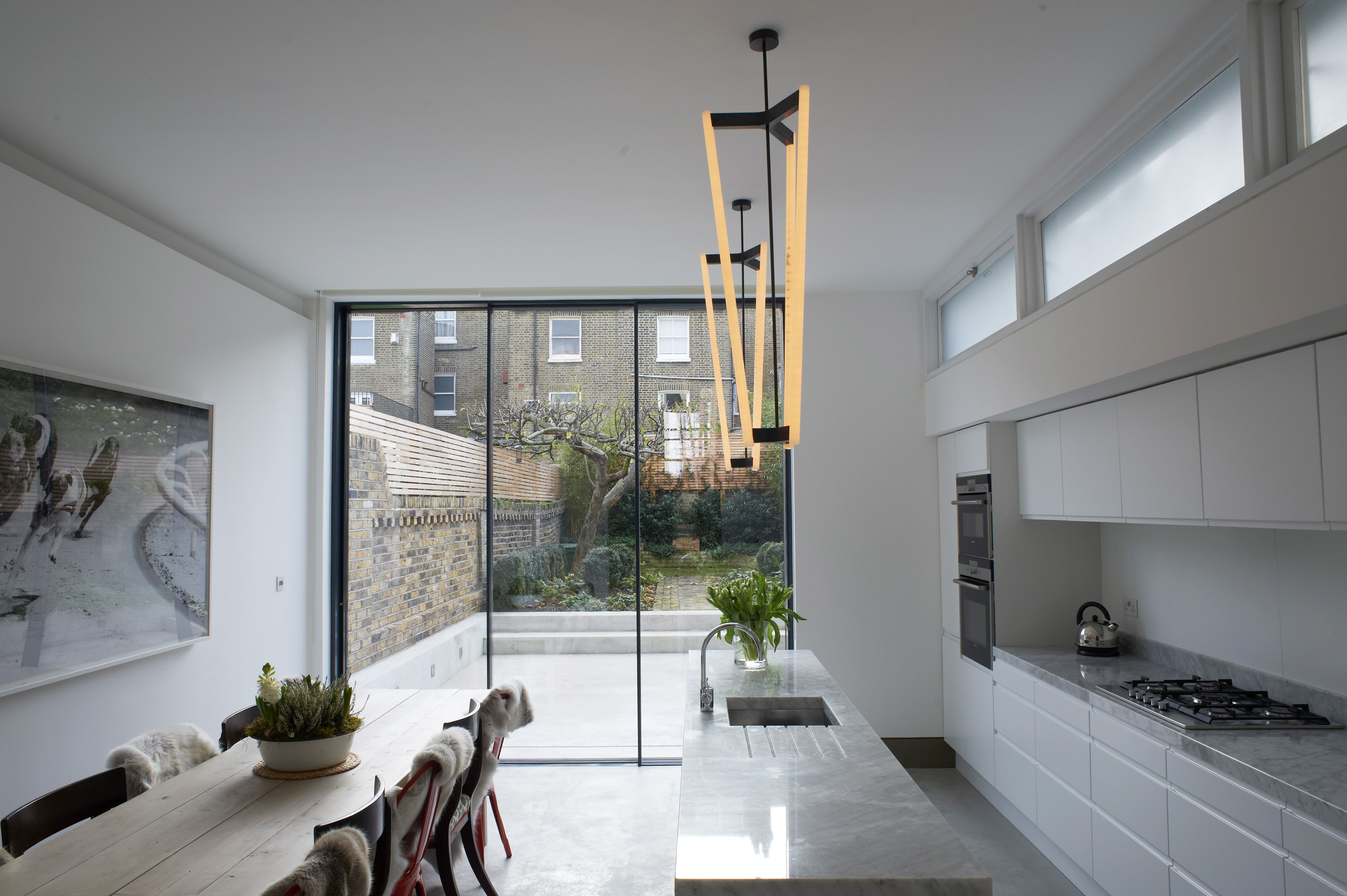 Modern interior design for the classic london terrace for Terrace extension ideas