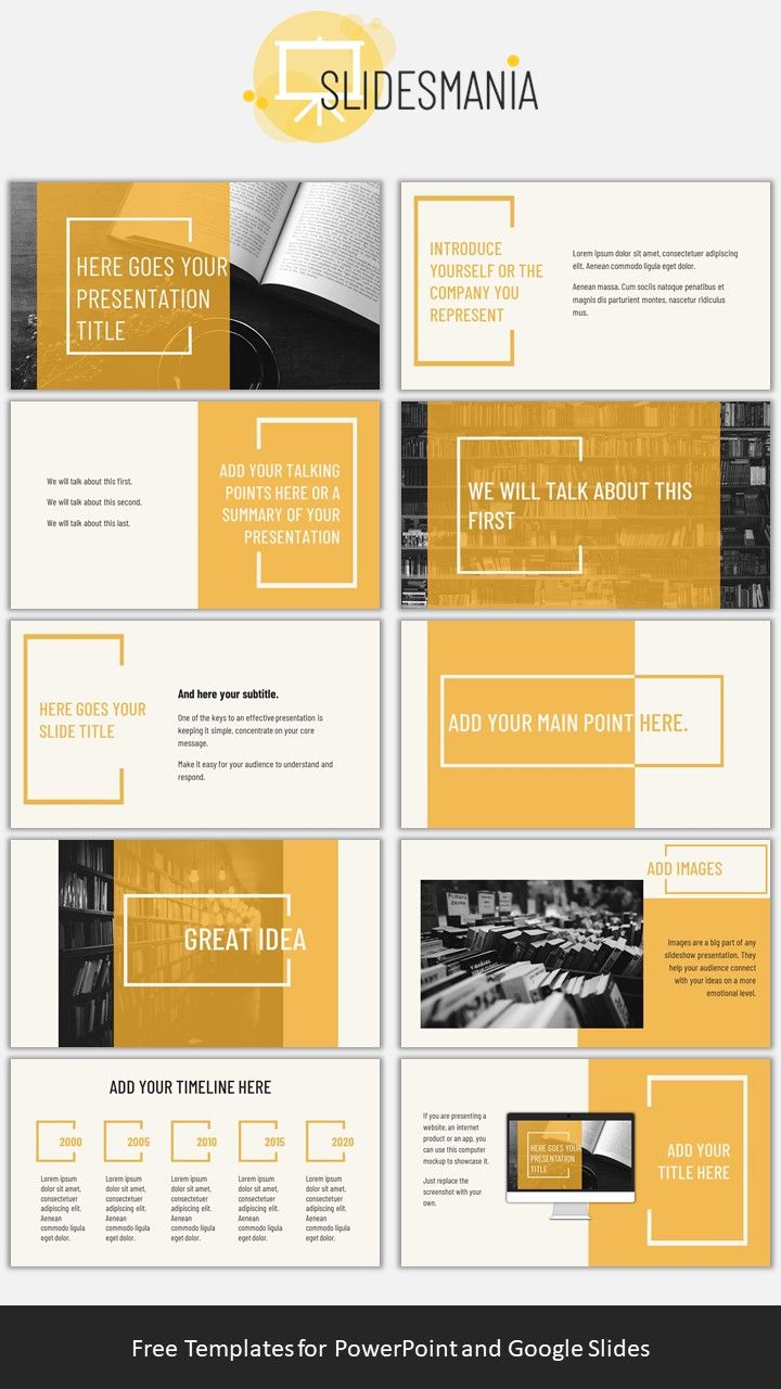 Berwick Free Presentation template for Google Slides or PowerPoint