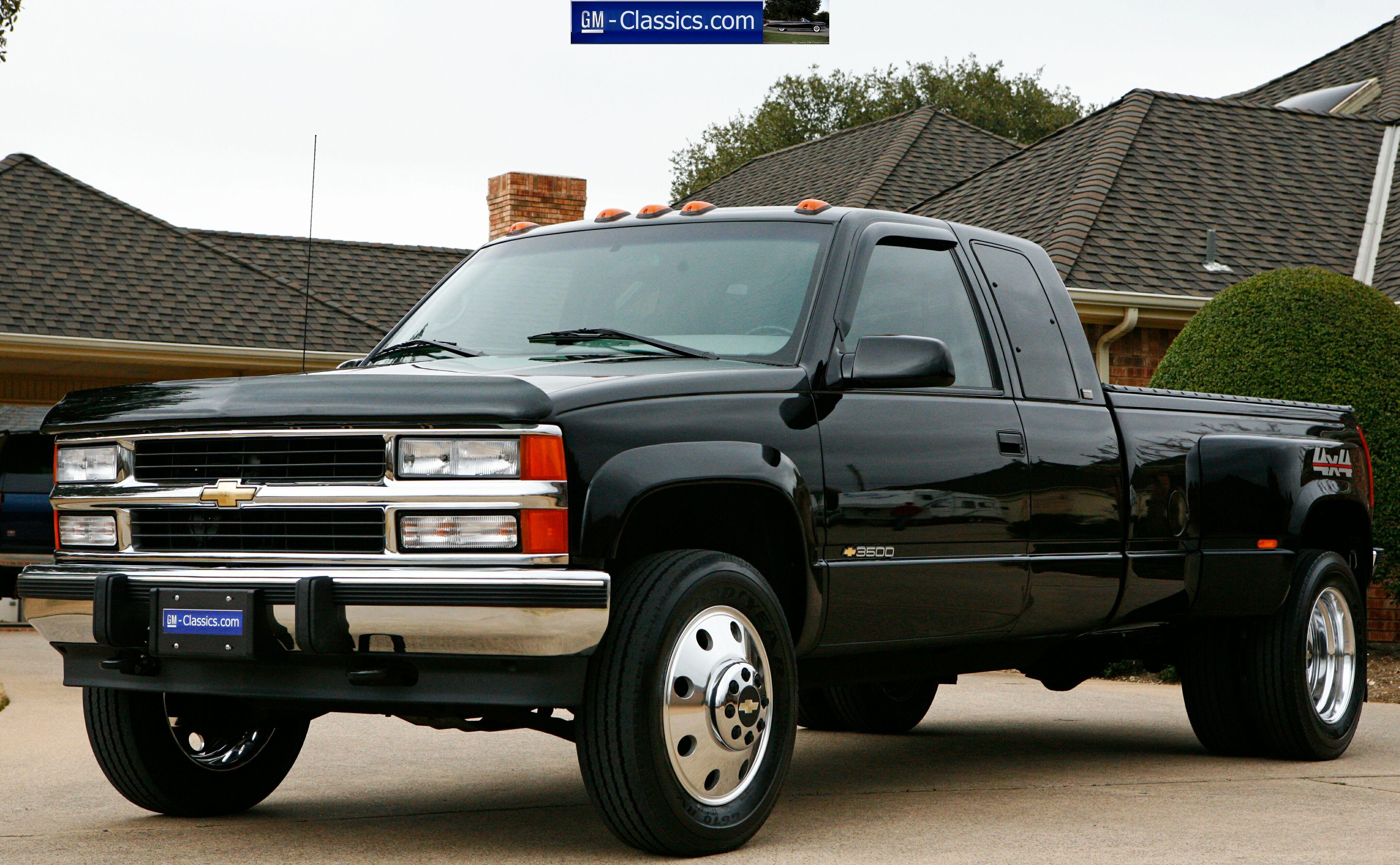 1996 Chevrolet Silverado 3500 4x4 Matt Garrett