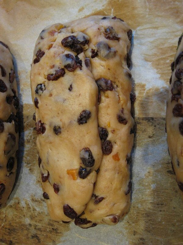 How to shape stollen if you want marzipan in it Recipes to Try