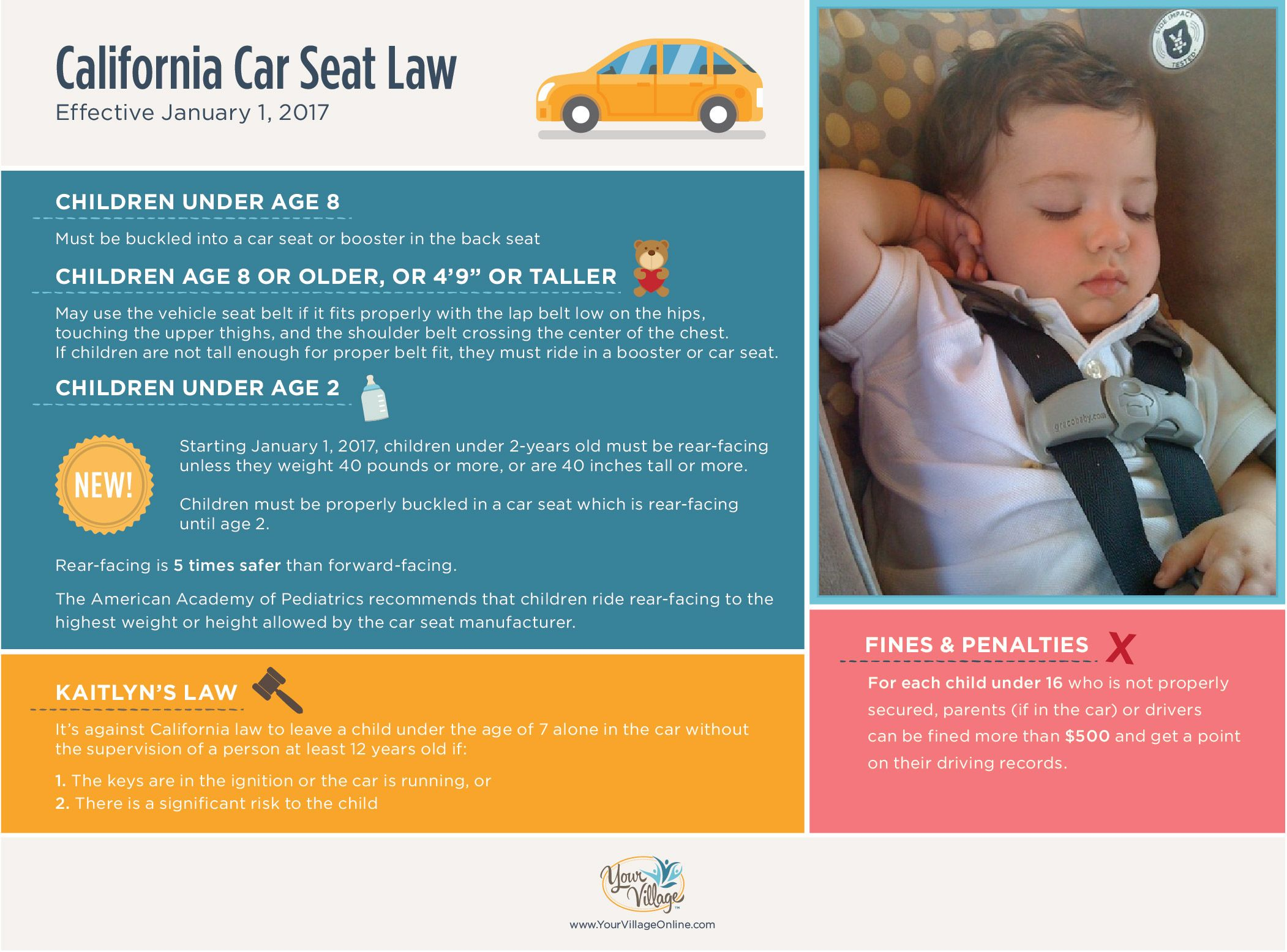 California Car Seat Safety Laws Are Changing January 1st Know The