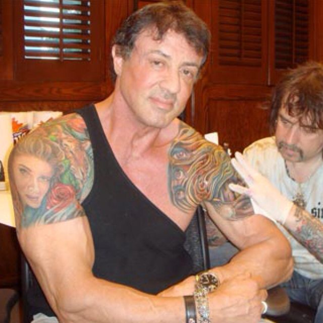 Pin By Kerry Sylvester On Tattoo Ideas: Sly Proving It's Never Too Late #tattoo