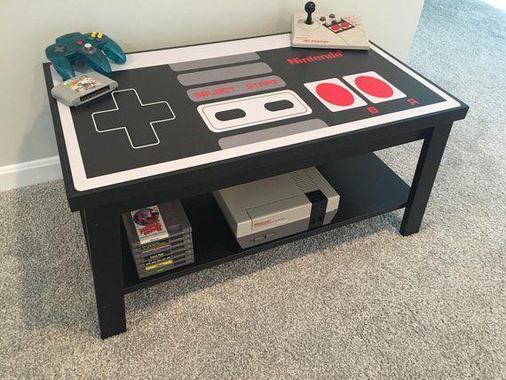 Controller Coffee Table.Nintendo Custom Nes Retro Video Game Controller Coffee Table In 2019