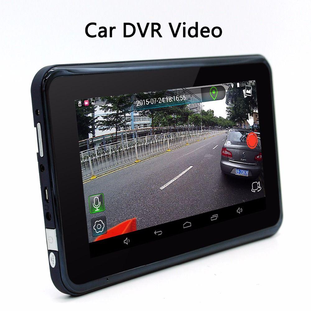 Junsun  Car Dvr Gps Navigation Android Radar Detector With Rear View Navigator Europe