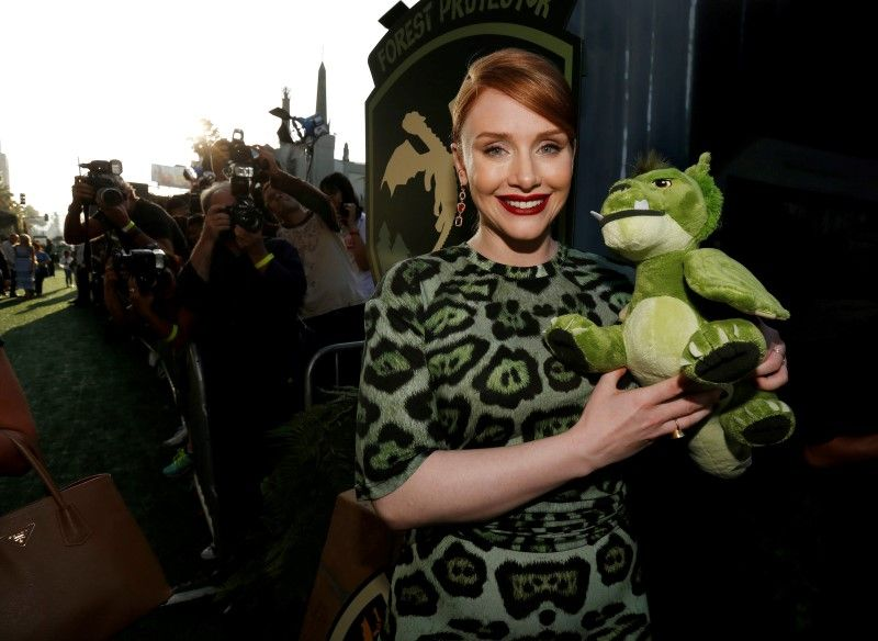 Cast member Bryce Dallas Howard poses at the premiere of