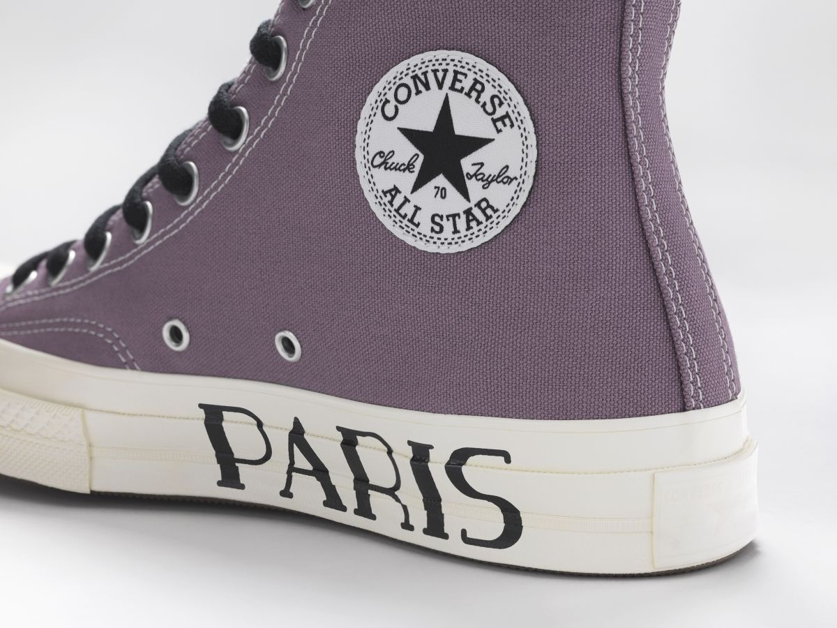 Universidad Armario mermelada  CONVERSE CUSTOM CHUCK 70 PARIS EDITION HIGH TOP | Sneaker heels, Shoe  inspiration, Converse