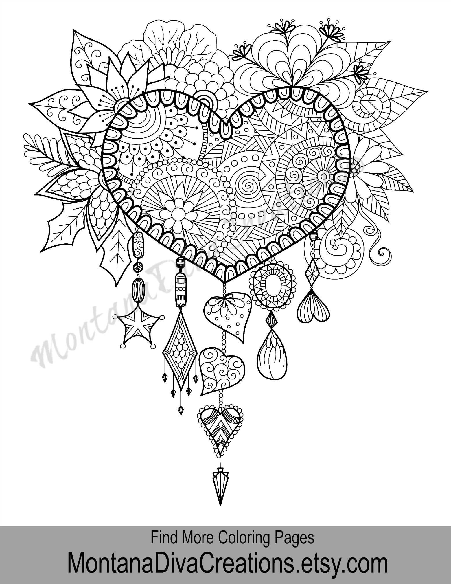 Pin De Laura Vilchez En Mandalas Corazon Mandala Paginas Para
