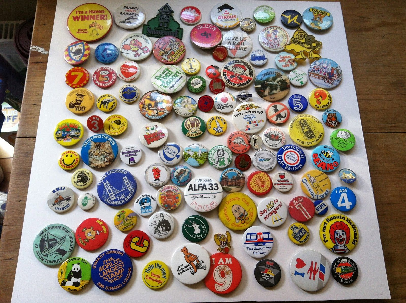 Badge Pin Display