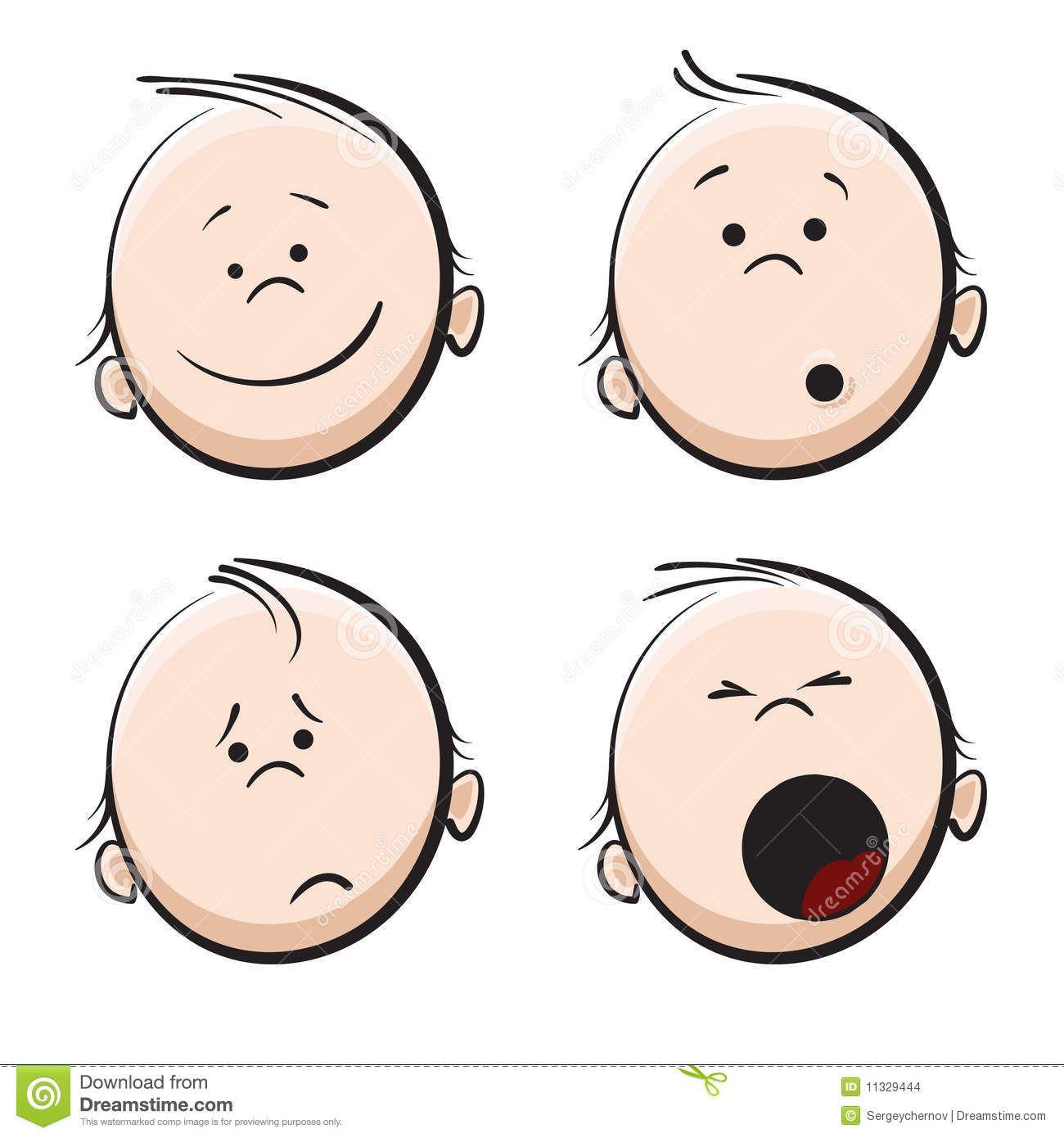 cute baby faces clipart - Google Search | bébé | Pinterest ...
