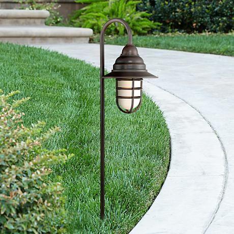 Mushroom Bronze 8 Piece Outdoor Led Landscape Lighting Set 4w490 2c494 4w486 With Images Led Landscape Lighting Landscape Lighting Led Path Lights