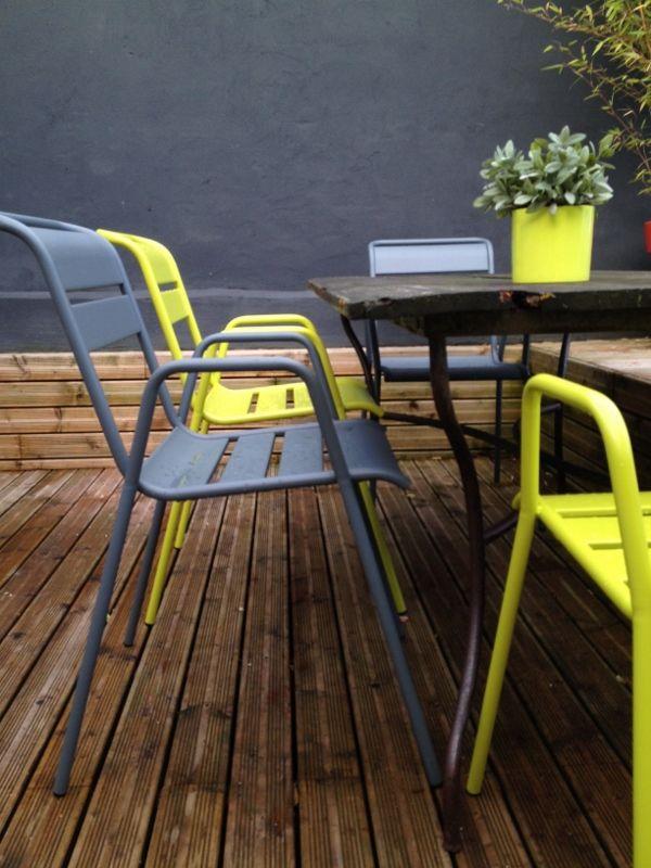Chaises fermob monceau jardin pinterest monceau chaises et terrasses - Chaises fermob soldes ...